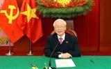 Поздравления Генеральному секретарю ЦК КПВ президенту Вьетнама Нгуен Фу Чонгу