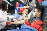 14-й Фестиваль красной весны планирует собрать более 4.000 единиц крови