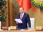 Primer ministro de Vietnam exhorta a mayores esfuerzos para alcanzar crecimiento económico de 65 por ciento