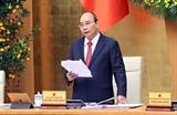 Thủ tướng Nguyễn Xuân Phúc: Tiếp tục tập trung triển khai các nhiệm vụ quan trọng cấp bách