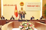 Chủ tịch Quốc hội Nguyễn Thị Kim Ngân chủ trì Phiên họp thứ ba Hội đồng Bầu cử quốc gia