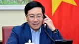 베트남 싱가포르와 협력방안 논의