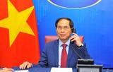 Bộ trưởng Ngoại giao Lào Campuchia và Indonesia điện đàm chúc mừng Bộ trưởng Bộ Ngoại giao Bùi Thanh Sơn