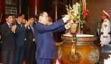 Le président de lAssemblée nationale en visite de travail à Nghe An