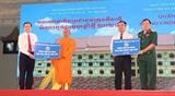 Phó Chủ tịch Thường trực Quốc hội Trần Thanh Mẫn dự Tết quân dân mừng Chôl Chnăm Thmây 2021 tại Cần Thơ