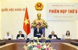 Председатель НС председательствует на пятом заседании Национального избирательного комитета