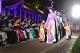 세계 문화와 함께한 아오자이 패션쇼