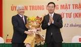 Dô Van Chiên nouveau président du Comité central du Front de la Patrie du Vietnam
