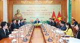 Les résultats du 13e Congrès national du PCV informés au PCC