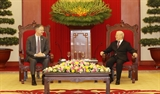 Le secrétaire général du Parti reçoit lambassadeur des États-Unis