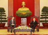 អគ្គលេខាបក្ស លោក Nguyen Phu Trong ទទួលជួបឯកអគ្គរដ្ឋទូតអាមេរិកប្រចាំនៅវៀតណាមដែលមកជម្រាបលាបញ្ចប់អាណត្តិបេសកកម្មការទូត
