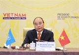 越南国家主席阮春福主持召开联合国安理会高级别公开辩论会
