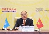 Vietnamese President chairs UNSCs high-level open debate
