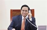 Премьер-министр Фам Минь Тьинь совершил телефонный разговор с премьер-министром Сингапура Ли Сянь Луном