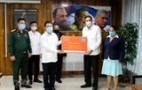 Llegan a Cuba mensaje de felicitación y obsequio de Vietnam por éxito de VIII Congreso partidista