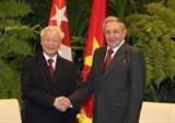 베트남-쿠바 특별우호관계 공고화