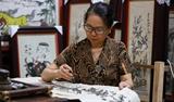 Nghệ nhân Nguyễn Thi Oanh – Người giữ gìn dòng tranh Đông Hồ