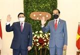 Tổng thống Indonesia tiếp trọng thị chân tình Thủ tướng Phạm Minh Chính