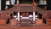 베트남에서 제일 작은 마호가니 마을 사원 모델