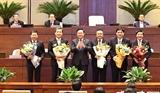 Bầu Chủ nhiệm một số Ủy ban của Quốc hội Tổng Thư ký Quốc hội Tổng Kiểm toán Nhà nước