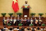 Miễn nhiệm chức vụ Phó Thủ tướng Chính phủ và 12 bộ trưởng trưởng ngành
