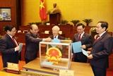 Phê chuẩn danh sách Phó Chủ tịch và một số Ủy viên Hội đồng Quốc phòng và An ninh