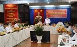 Phó Thủ thướng Thường trực Chính phủ Trương Hòa Bình kiểm tra công tác phòng chống dịch COVID-19 tại Tây Ninh