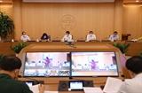 Bí thư Thành ủy Hà Nội Đinh Tiến Dũng: Xử lý nghiêm người đứng đầu nếu để dịch bệnh lây lan