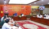Le président de lAssemblée nationale Vuong Dinh Hue à Hai Phong