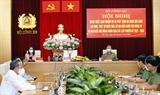 Chủ tịch Quốc hội Vương Đình Huệ dự Hội nghị trực tuyến toàn quốc quán triệt giao nhiệm vụ và phát lệnh ra quân bảo đảm an ninh trật tự Ngày bầu cử