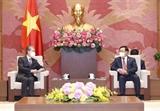 Le président de lAssemblée nationale reçoit lambassadeur de Chine