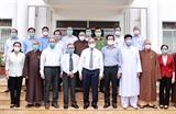 응웬쑤언푹 국가주석 베트남은 종교의 자유 보장