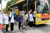 Hơn 260 cán bộ sinh viên Đại học Kỹ thuật Y tế Hải Dương chi viện Bắc Ninh và Bắc Giang chống dịch COVID-19