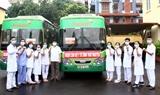 Thái Nguyên cử cán bộ bác sĩ hỗ trợ Bắc Giang chống dịch COVID-19