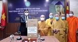 Giáo hội Phật giáo Việt Nam trao tặng thiết bị y tế hỗ trợ Ấn Độ phòng chống dịch COVID-19