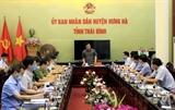 Thái Bình khẩn trương rà soát những người đến Đền Tiên La vào ngày 25/4