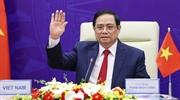 アジアの未来国際交流会議におけるファム・ミン・チンベトナム首相の講演