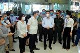 Chủ tịch UBND thành phố Chu Ngọc Anh trực tiếp kiểm tra công tác phòng chống dịch COVID-19