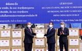 Việt Nam hỗ trợ vật tư y tế tiền và cử chuyên gia sang giúp Lào đối phó với COVID-19