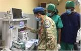 Médecine militaire : efforts inlassables des Casques bleus vietnamiens au Soudan du Sud