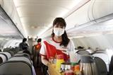 Живите счастливо оставайтесь здоровыми и безопасно летайте с Vietjet