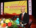Le leader du Parti apprécie le rôle du secteur bancaire dans le développement économique