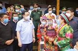 Elections législatives : le président de lAssemblée nationale examine les préparatifs à Ha Giang