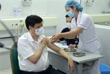 Министру здравоохранения и его заместителям сделали прививки от COVID-19