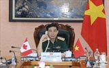 Министры обороны Вьетнама и Канады провели телефонные переговоры