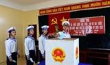 Провинция Кханьхоа: провести досрочное голосование в островном уезде Чыонгша