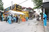 Tăng tốc xét nghiệm cắt đứt cơ chế lây lan của dịch tại xã Tô Hiệu huyện Thường Tín - Hà Nội