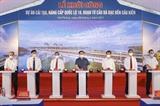 Chủ tịch Quốc hội dự Lễ khởi công Dự án cải tạo nâng cấp Quốc lộ 10 đoạn từ cầu Đá Bạc đến cầu Kiền tại Hải Phòng