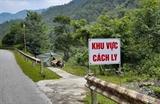 Điện Biên chấm dứt hoạt động vùng thiết lập cách ly y tế bản Tâu 3 xã Hua Thanh