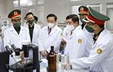 Le président de lAssemblée nationale rend visite à lAcadémie de médecine militaire
